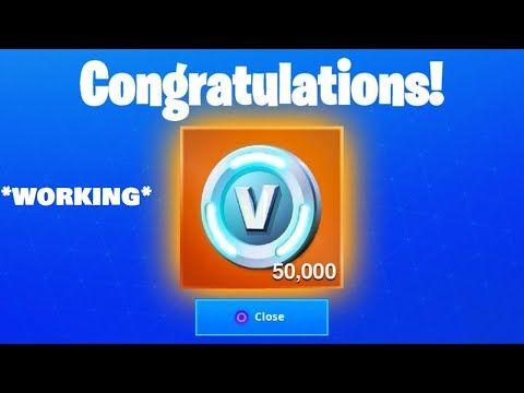 I Got 50 000 V Bucks For Free Using This Glitch Fortnite How To Get Free V Bucks In Ch 2 Season 2 Youtube Fortnite Glitch Xbox One