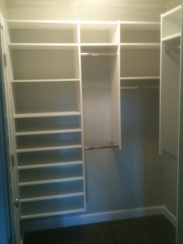 Martha Stewart Living Closet : Martha Stewart Living 4 ft. - 8 ft. Classic White Deluxe ...