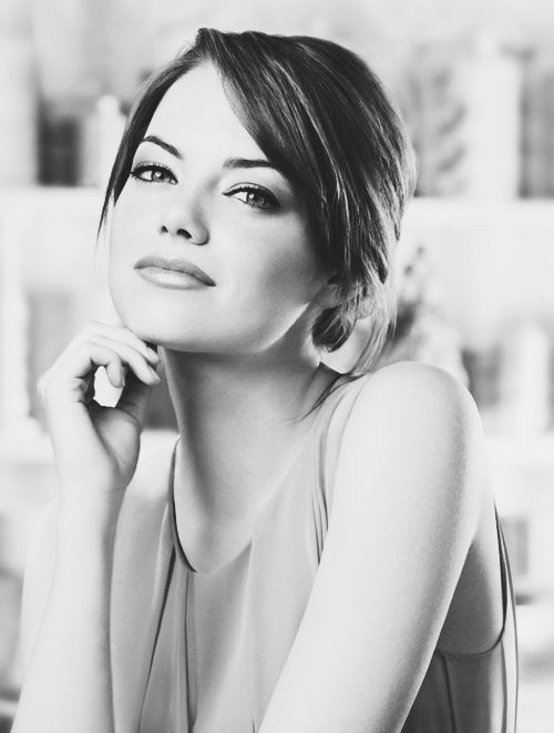 Emma Stone..my brother thjnks she is the most gorgeous woman in the world...love him for that!