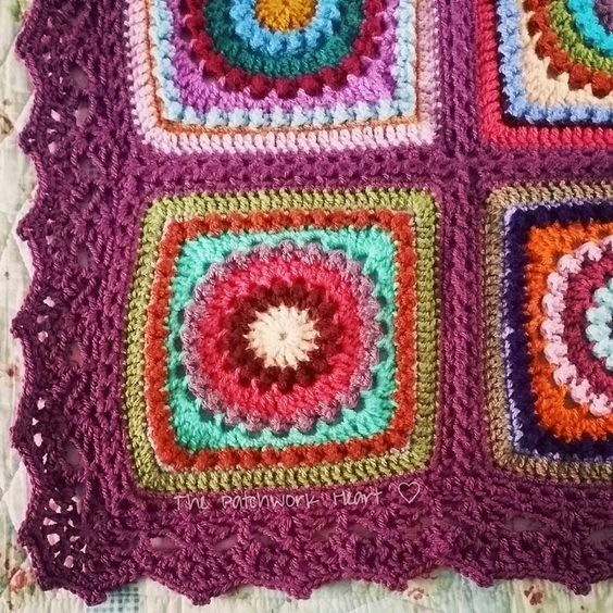 Border from around the corner crochet borders by edie eckman flat