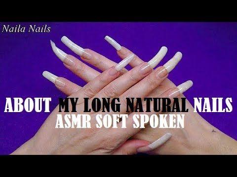 Video Youtube Long Nails Long Natural Nails Soft Spoken