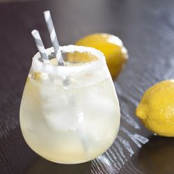 Simply The Best Lemonade Recipe by chantal22:  Super addictive, great for cocktails, and freezes well.