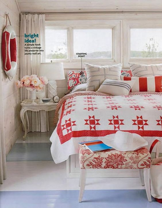 sarah richardson country living cottage starting point master bedroom