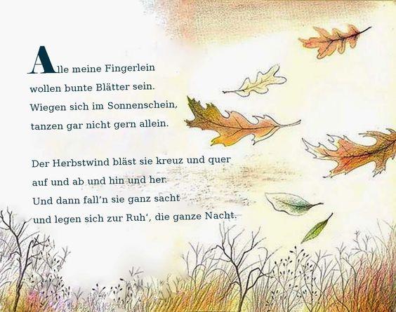 298 besten Gedichte &Fingerspiele Bilder auf Pinterest | Reime ...