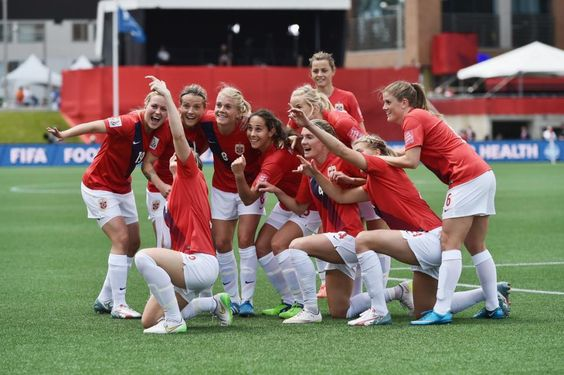 The Norway soccer team lost their Round of 16 match versus England at the FIFA Women's World Cup Canada 2015 and is eliminated from the World Cup.