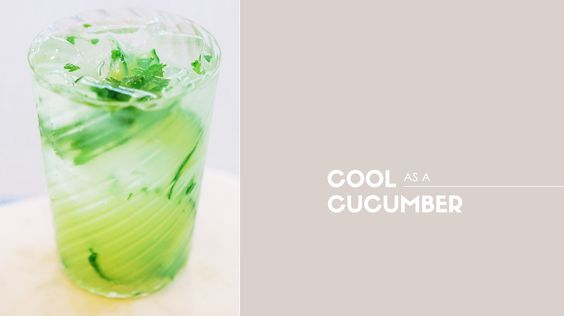 Cool as a Cucumber Cocktail // cocktails, weddings, drinks, recipes