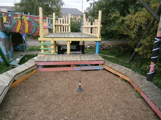 swing area at Homerton Grove