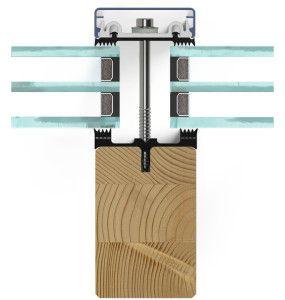 Pfosten-Riegel-Fassade aus Holz | Details | Pinterest