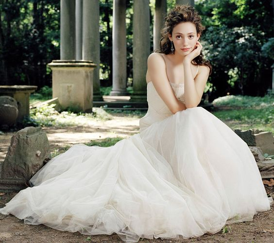 Emmy Rossum Wedding: Full View And Download Emmy Rossum Wedding Dress Wallpaper