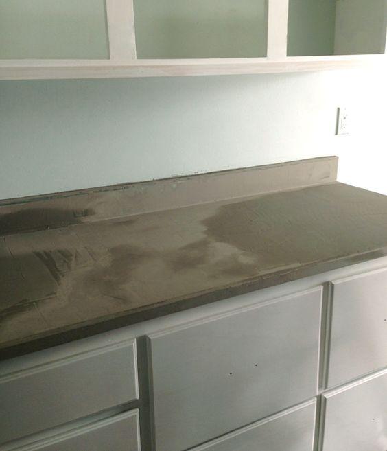 Concrete Countertops Over Laminate Do It Yourself