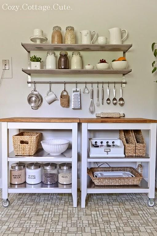Tips deco cocinas pequenas distribuir cocina espacios for Repisas espacios pequenos