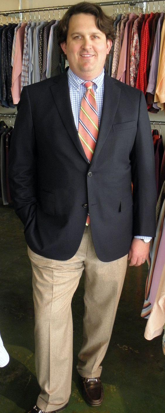 JT wearing his Zegna Coat and Slacks.