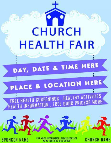 Free Health Fair Flyer Template