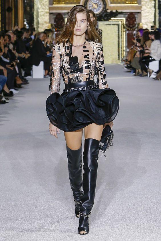 Untitled — fashionfaves:   Luna Bijl for Balmain