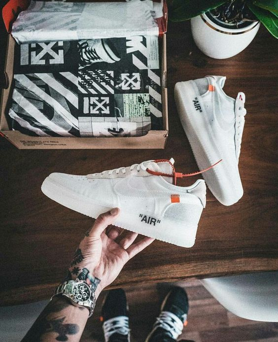 Nike Air Force 1. Macho Moda - Blog de Moda Masculina: NIKE AIR FORCE 1: Dicas de Looks Masculinos pra Inspirar, Moda Masculina, Roupa de Homem, Sneakers, Tênis Nike Air Force 1 Off White Virgil Abloh