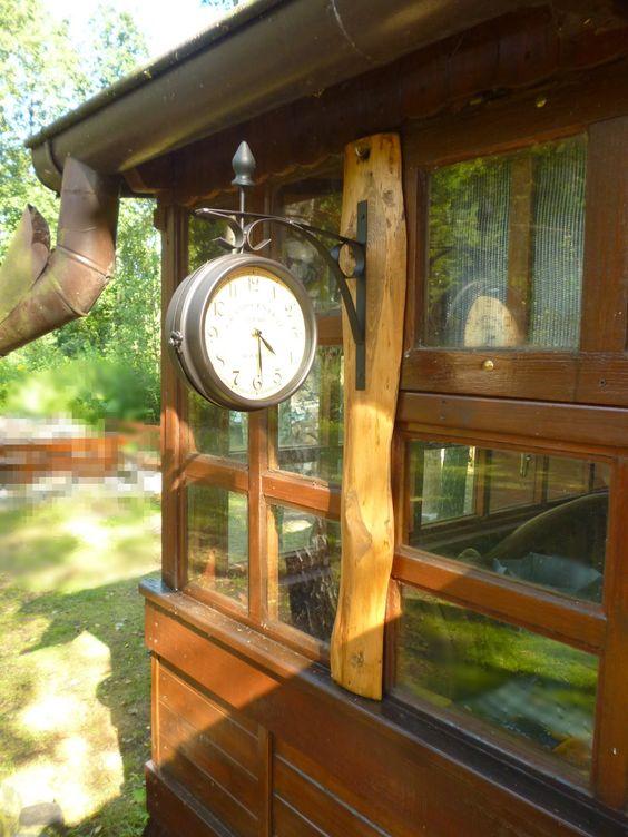 wooden handle for clock