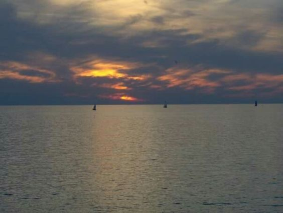 Lake Erie Sunset taken by me