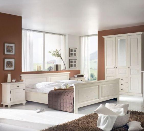 MANUELE Schlafzimmer\/komplett Schlafzimmer I Fichte roh - schlafzimmer günstig online