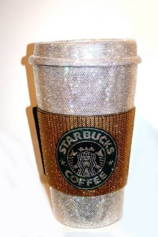 #Sparkles and @Starbucks need we say more?! #Bling