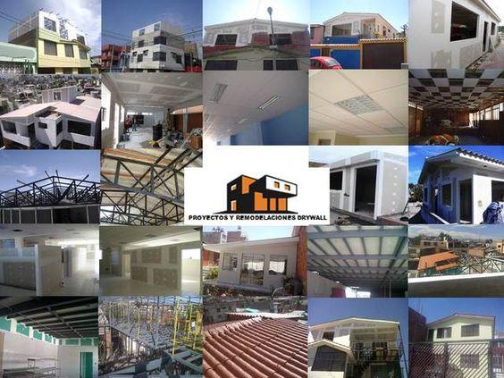 """CONSTRUYE REMODELA Y/O AMPLIA """"PROYECTOS Y REMODELACIONES DRYWALL"""" - Construcciones - Arequipa"""