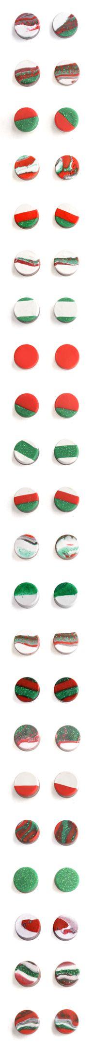 Holiday Season Stud Earrings! Awesome!