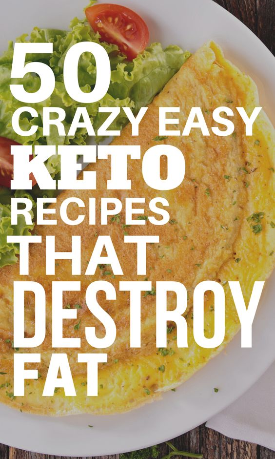 50 Easy Throw Together Keto Recipes You'll Flip Over | Olivia Wyles
