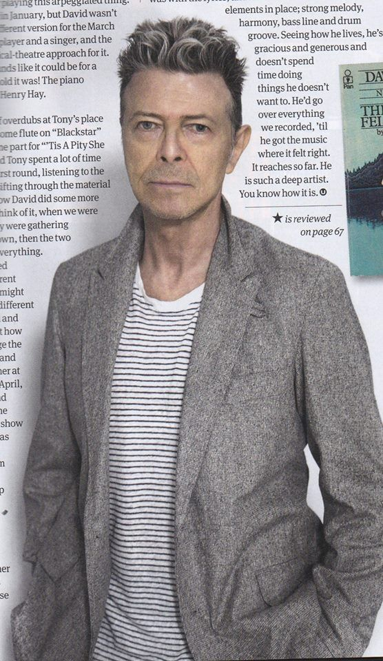 RIP David Bowie...the world is a far more interesting place because you were here...You will be missed by so many