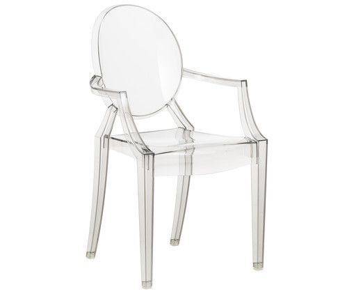 Chaise A Accoudoirs Louis Ghost Louis Ghost Chair Kartell Philippe Starck