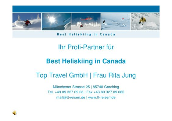 Heliskiing rocks by Rita Jung via slideshare