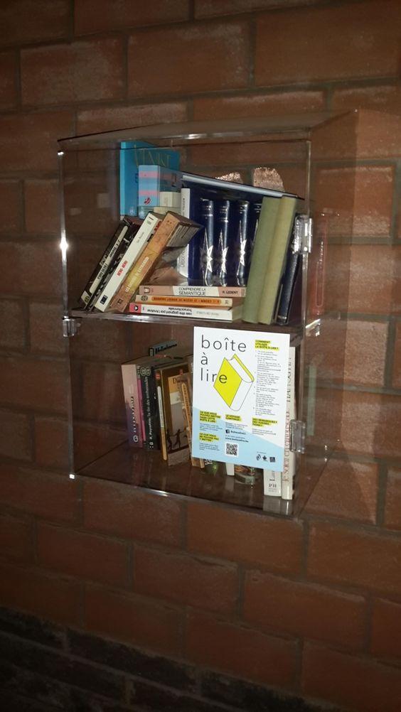 Boîte à livres Besonrieux La Louviere 10