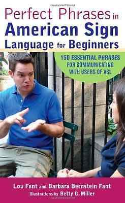 #Perfect phrases in #american sign #language for beginners - fant, lou new…