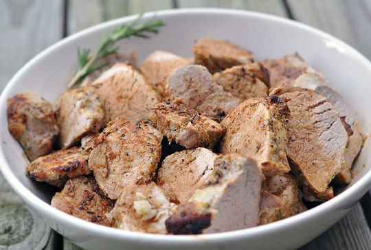 Garlic & Herb Roasted Pork Tenderloin