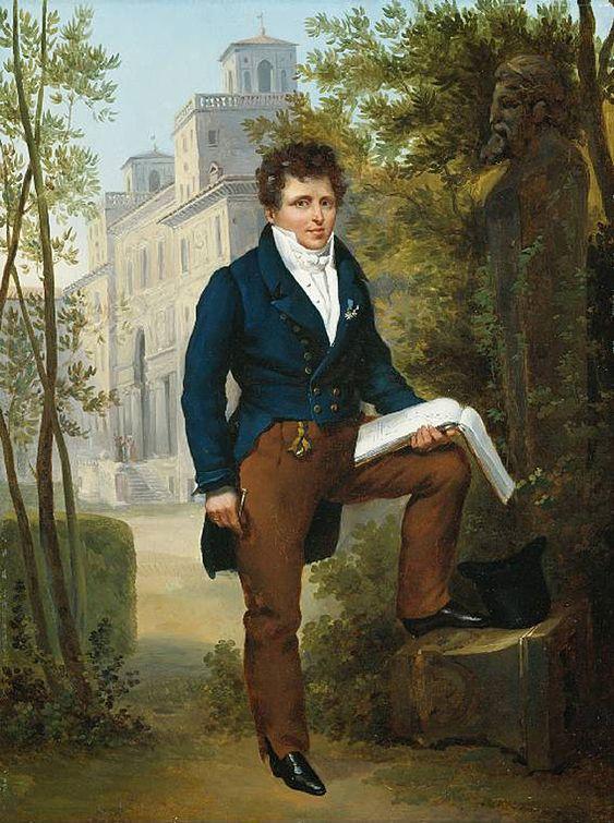 Men's fashion 1817, when my next book is set.: