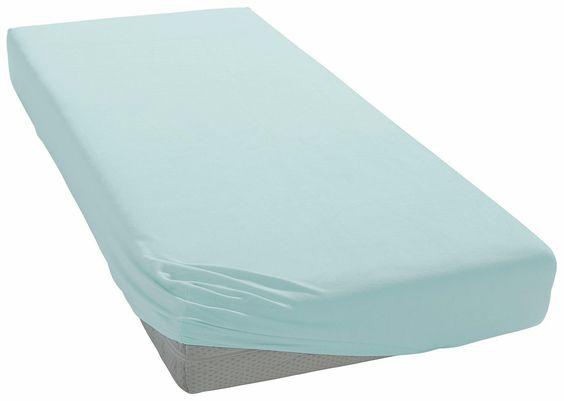Hochwertiges Spannbettlaken »Jersey-Elasthan« der Marke Esprit Home. Das unifarbene Bettlaken in der Qualität Jersey wird aus 97% Baumwolle und 3% Elasthan hergestellt. So lässt sich das Laken mit Rundum-Gummizug mühelos beziehen und passt sich wunderbar der Matratze an. Es ist passend für eine Matratzenhöhe bis zu max. 35 cm, ist außerdem für Wasserbetten geeignet und in vielen tollen Farben e...