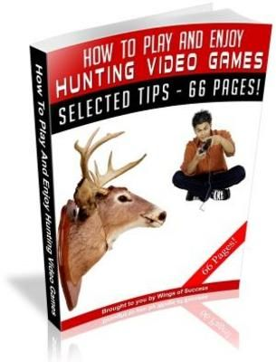 How To Play And Enjoy Hunting Video Games (MRR)  http://visit.tradebit.com/visit.php/74427/product/-/7086434 - http://wanelo.com/p/3625159/video-game-tester-how-to-get-paid-to-play-games