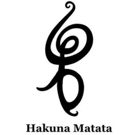 Hakuna matata symbol tatouages pinterest a tattoo hakuna matata and tattoos and body art - Hakuna matata tatouage ...