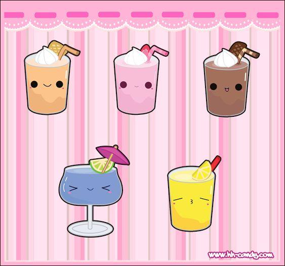 cups cute kawaii food and more kawaii drinks deviantart junk food ...