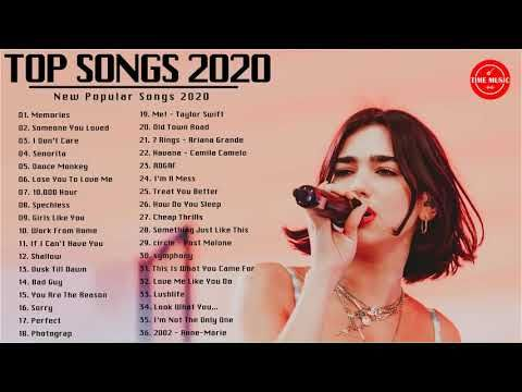 New Songs 2020 Top 40 Popular Songs Playlist 2020 Best English Music Collection 2020 Youtube News Songs Song Playlist Songs