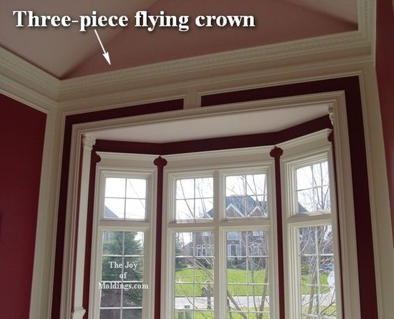 No crown molding on vaulted ceilings the joy of moldings Rules for painting ceilings