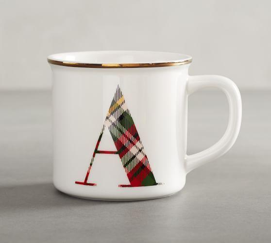 NEW ANTHROPOLOGIE PETAL PALETTE MUG CUP LETTER F LATTE TEA COFFEE MONOGRAM ALPHA