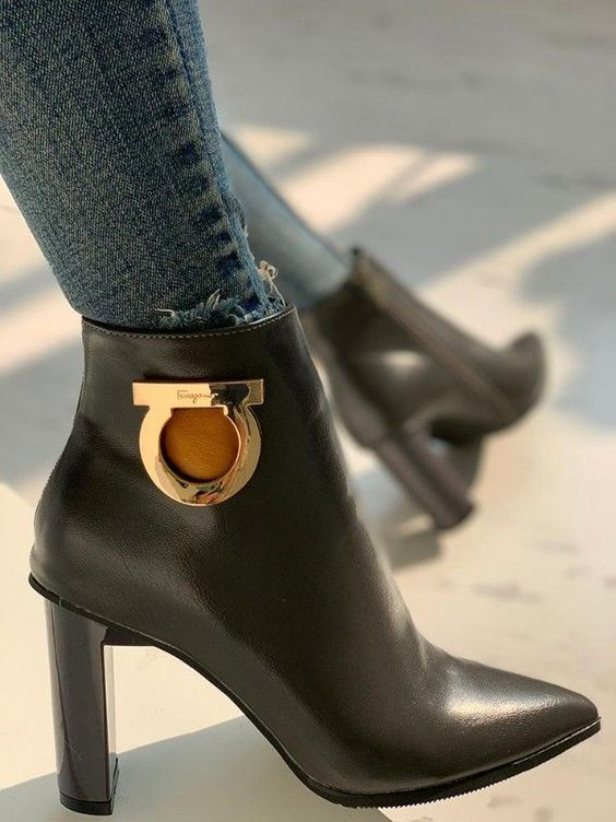 Stylish Fall Ankle  Boots