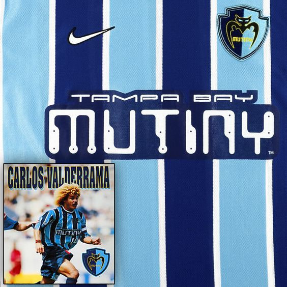 Tampa Bay Mutiny - Carlos Valderrama