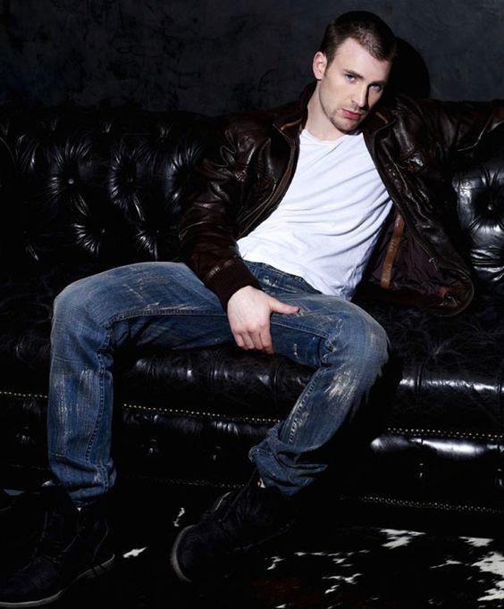 Chris Evans via My New Plaid Pants (mynewplaidpants.tumblr.com ...