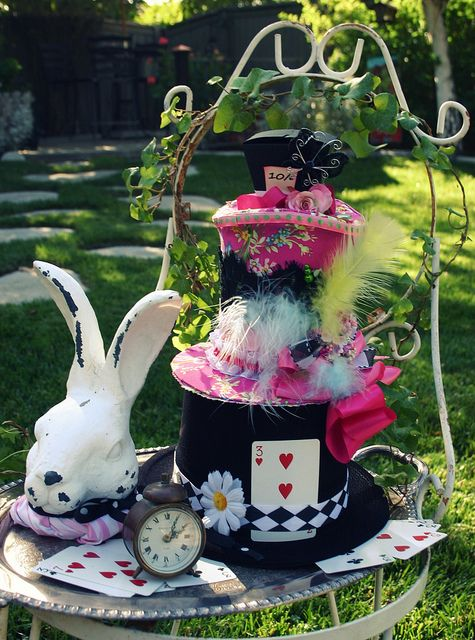 Party decorations for alice in wonderland in the garden - Alice in wonderland outdoor decorations ...
