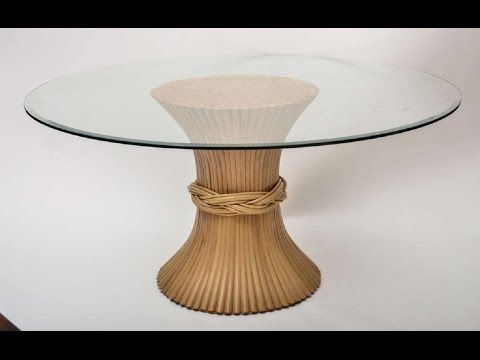 Awesome Table Bases For Glass Tops Idea Youtube Round Glass