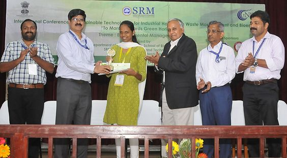 SRM Institute of Science and Technology Biotech Confrence at SRM Kattankulathur