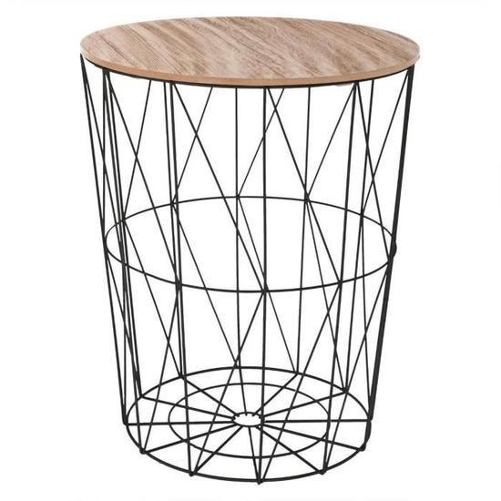 Epingle Par Yoanna Klein Sur La Decoration De Mes Reves Cdiscount En 2020 Table Cafe Cafe Noir Table Basse