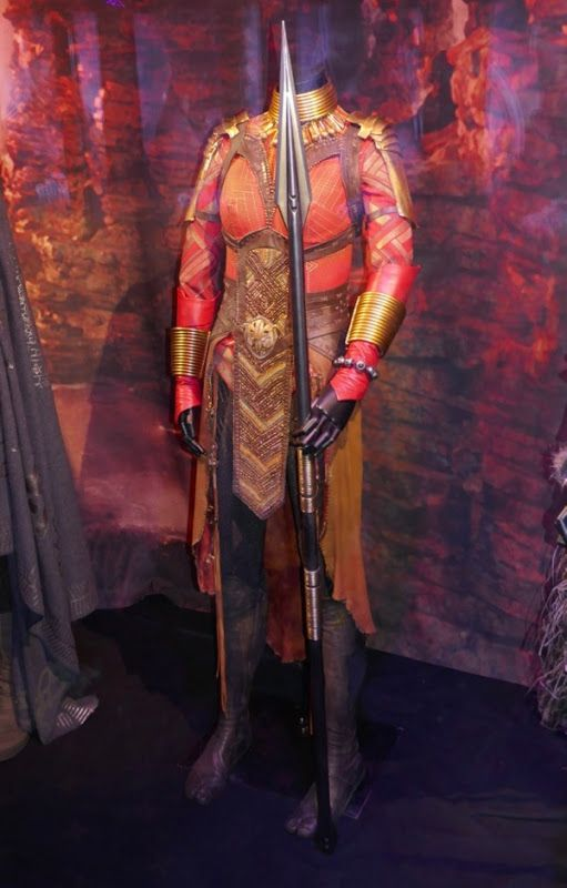 Black Panther Okoye Cosplay Costume Comic Con Outfit Dora Milaje Full Size Suit