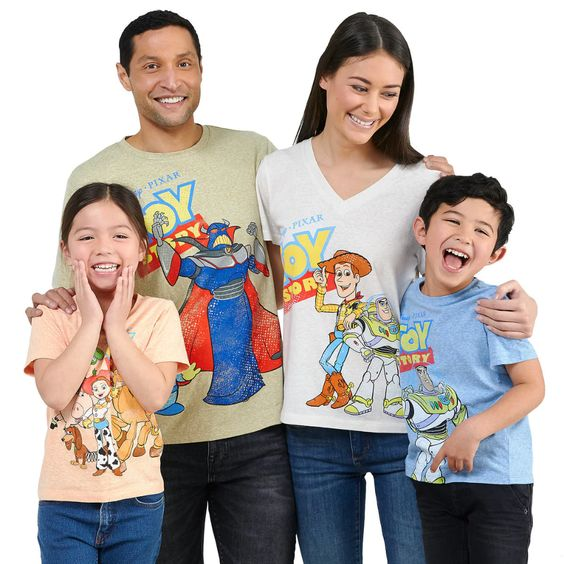 Toy Story T-Shirt Collection for Family