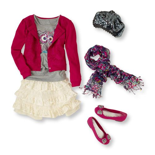 Cute girls outfit - children's place